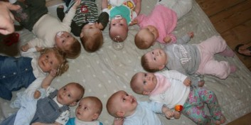 Babysalmesang i  Lundeborg kirke
